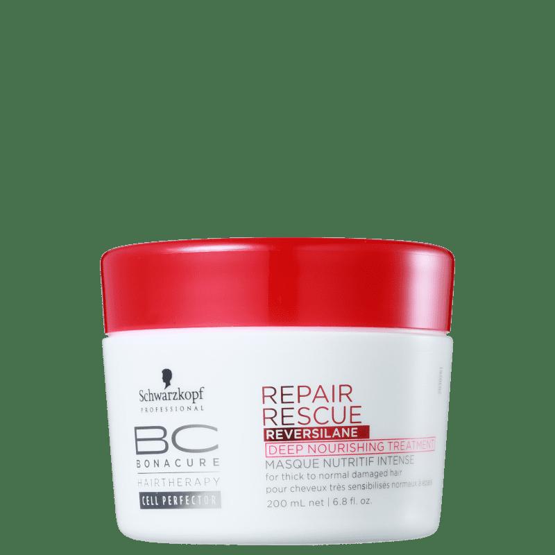 Schwarzkopf Professional BC Bonacure Repair Rescue Reversilane Deep - Máscara de Nutrição 200ml