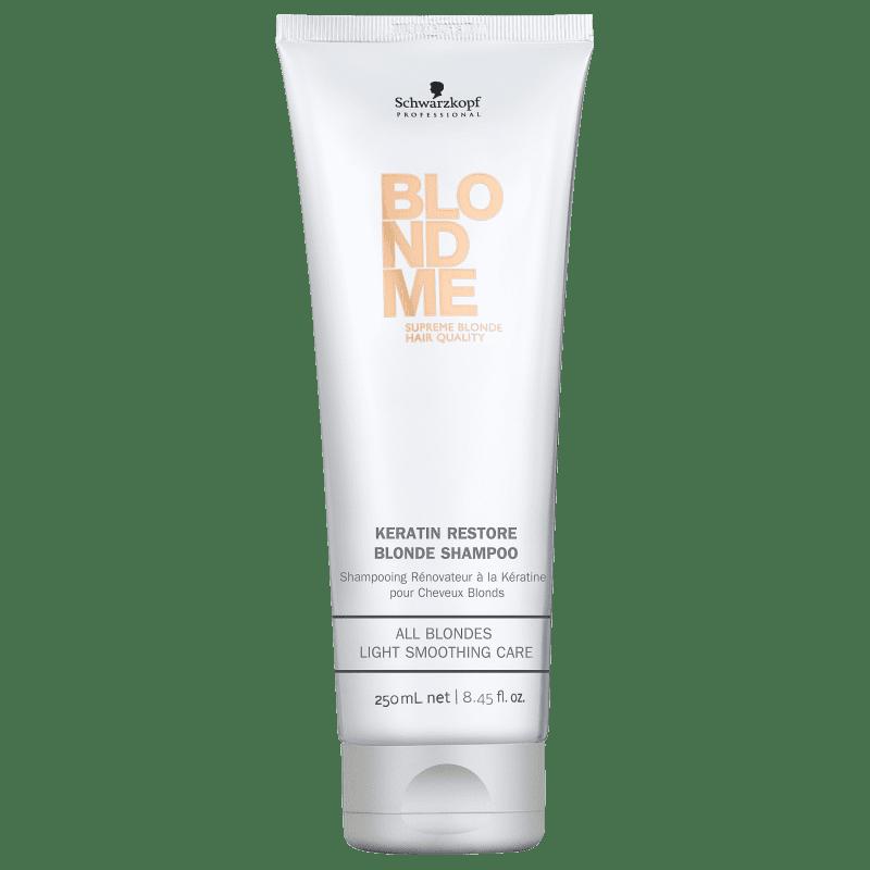 Schwarzkopf Professional BlondMe Keratin Restore - Shampoo 250ml