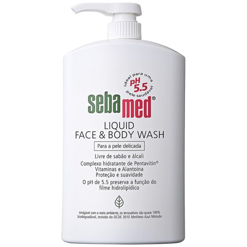 Sebamed Liquid Face & Body Wash - Sabonete Líquido Facial 1000ml