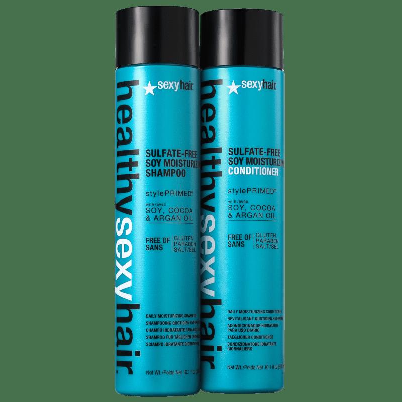 Kit Sexy Hair Healthy Soy Moisturizing Duo (2 Produtos)