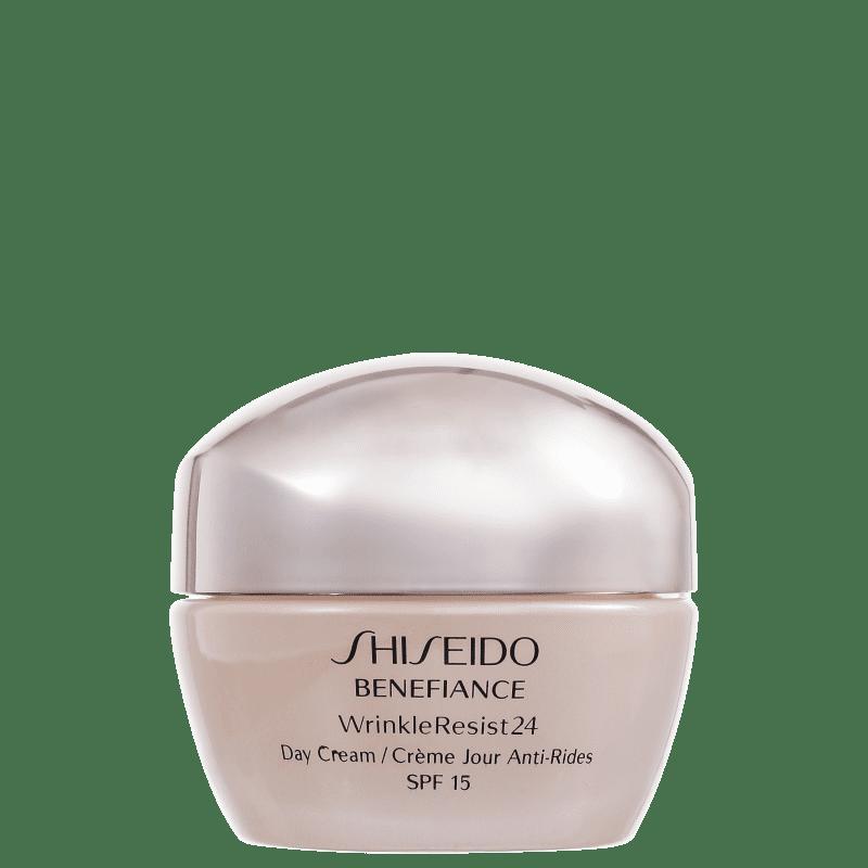 Shiseido Benefiance Wrinkle Resist24 Day FPS 15 - Creme Anti-Idade Diurno 50ml