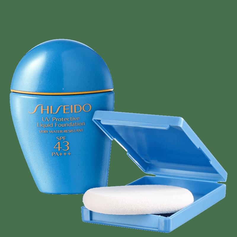 Shiseido Sun Care UV Protective Liquid Foundation FPS 43 Dark Ivory - Base Líquida 30ml