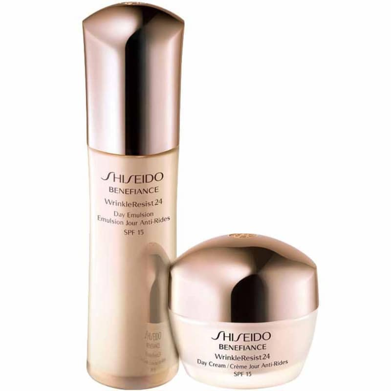 Kit Shiseido Benefiance Wrinkle Resist24 Day Treatment (2 produtos)