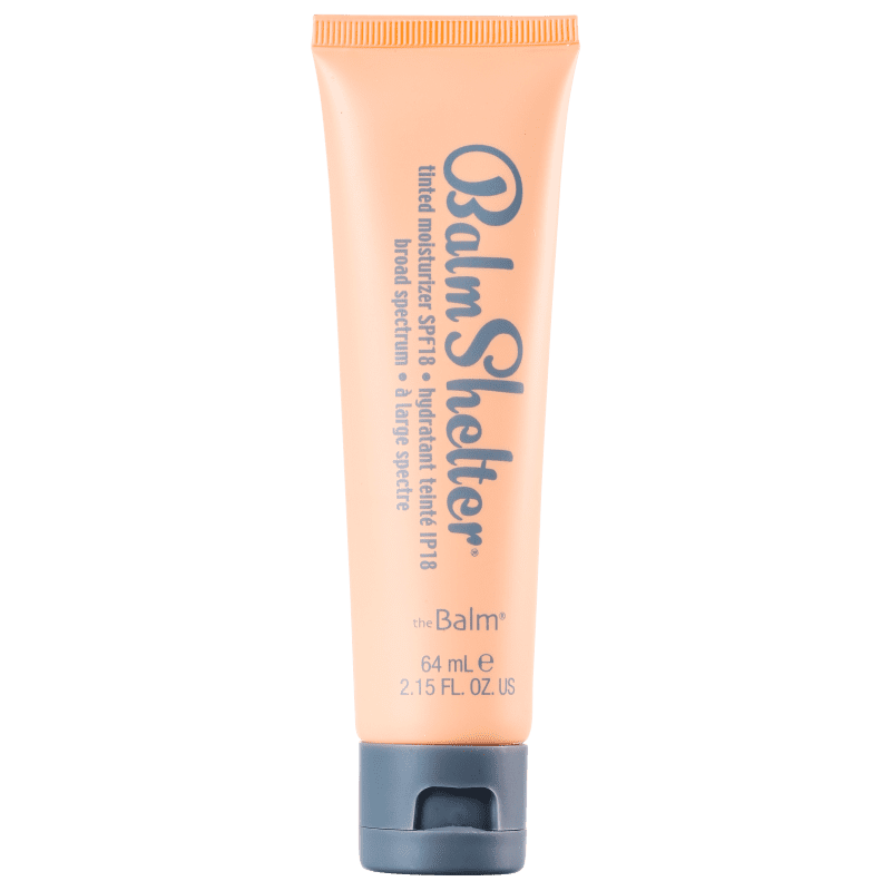 the Balm Balmshelter Lighter Than Light FPS 18 - Hidratante com Cor 64g