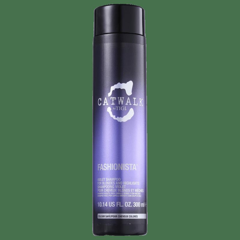 TIGI Catwalk Fashionista Violet - Shampoo Desamarelador 300ml