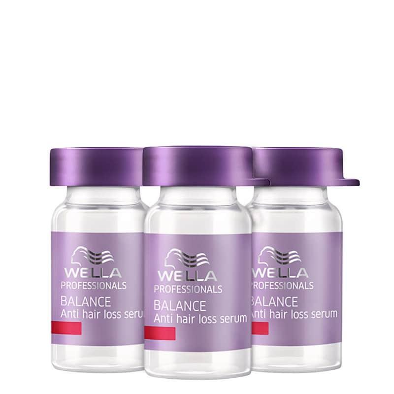 Wella Professionals Balance Anti Hair Loss Serum - Serum Antiqueda 3x6ml