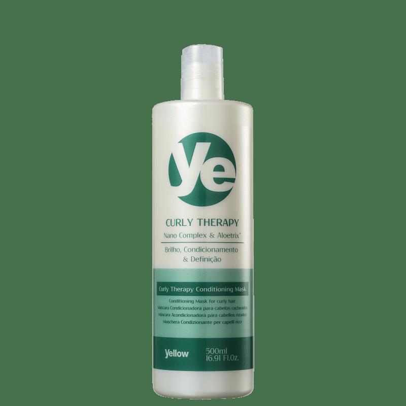 Yellow Curly Therapy - Máscara Condicionadora 500ml