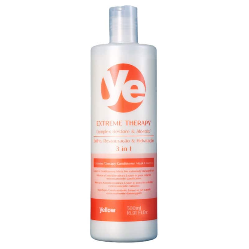 Yellow Extreme Therapy 3 in 1 - Tratamento Capilar 500ml