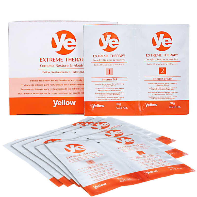 Yellow Ye Extreme Therapy Intensive Treatment - Tratamento Reconstrutor 6x30ml