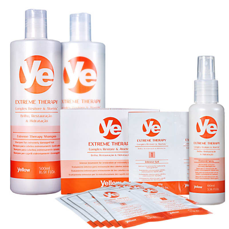 Kit Yellow Ye Extreme Therapy Power Treatment (4 Produtos)