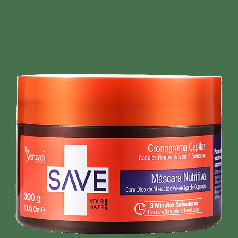 Yenzah Save Cronograma Capilar Nutritiva - Máscara 300g