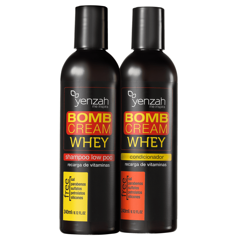 Kit Yenzah Power Whey Bomb Cream Duo (2 Produtos)