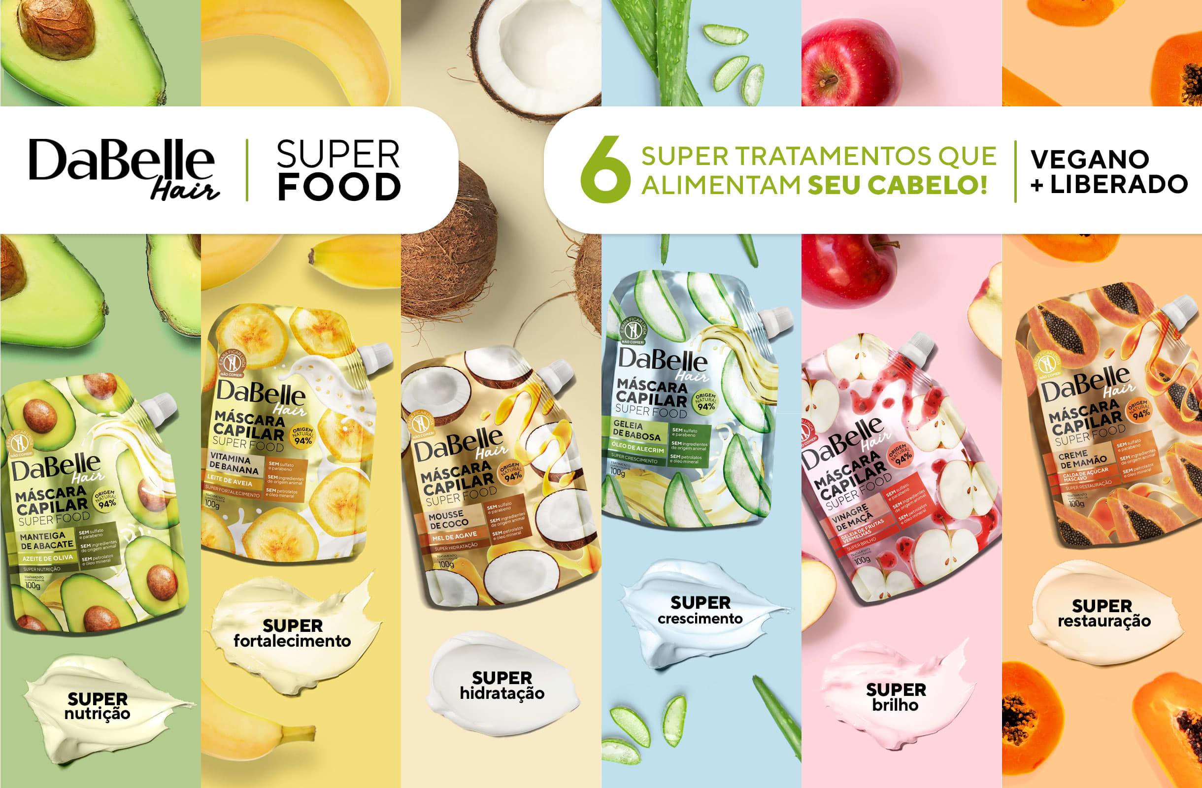 Super Food - Tratamentos que alimentam seu cabelo