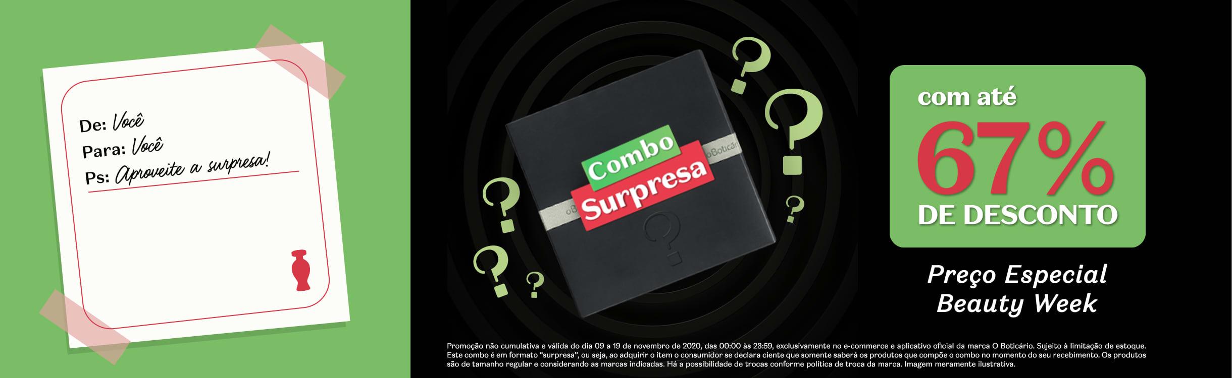 C16/20: Combo Surpresa LP