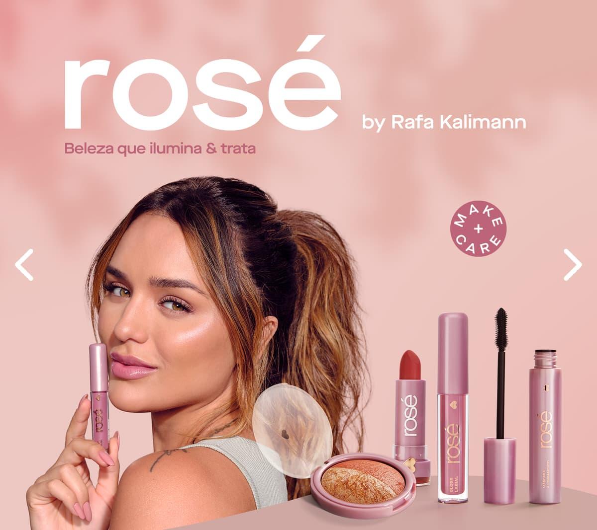 LP: Principal: Coleção Rosé - Rafa Kalimann