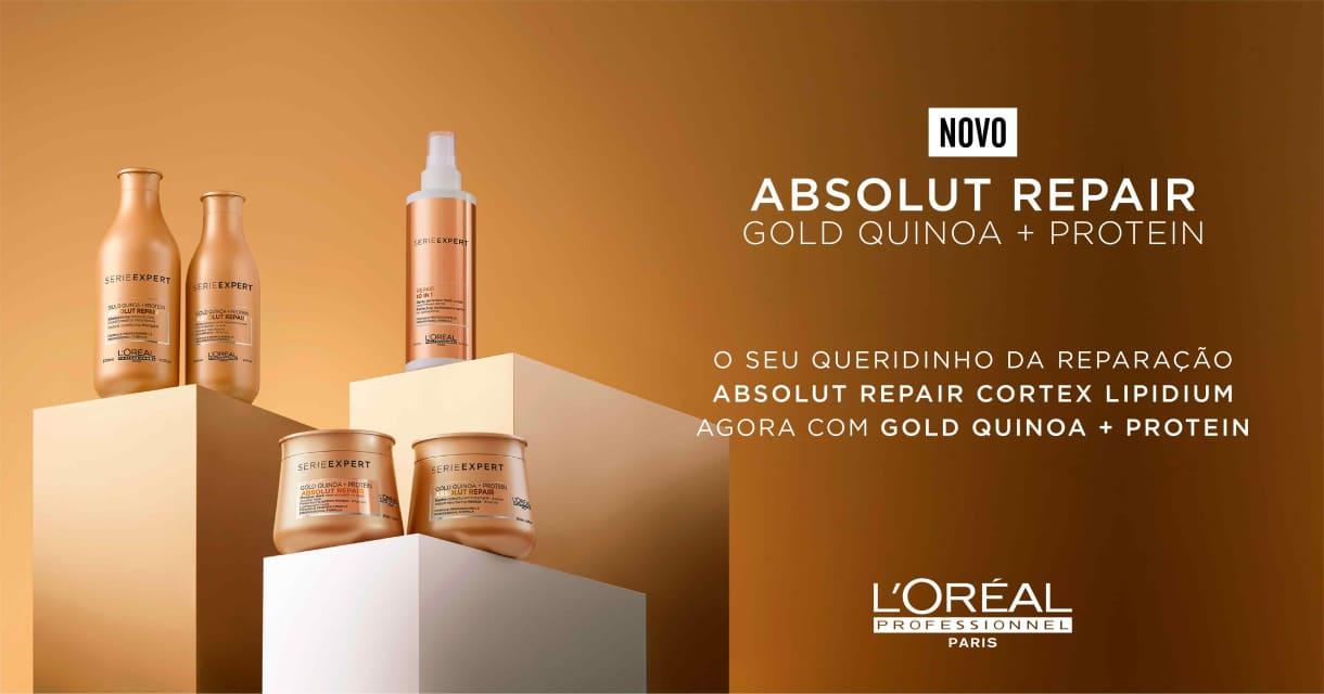 Cabelos: Absolut Repair Gold Quinoa