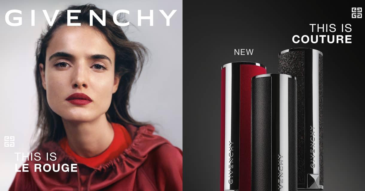 Maquiagem: Givenchy Le Rouge