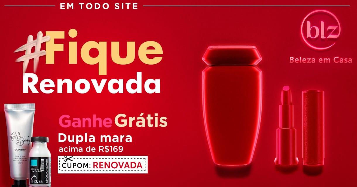 Home: Principal: #fiquerenovada ganhe kit > 169
