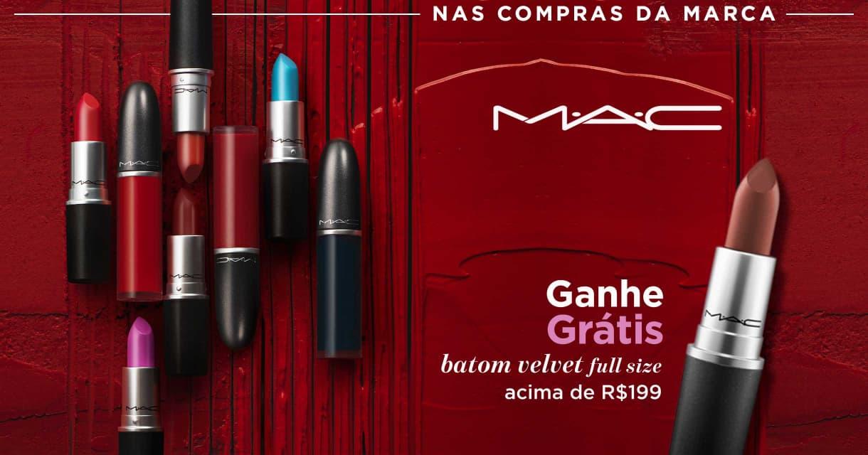 Maquiagem: Mac ganhe grátis 18555 acima de R$199