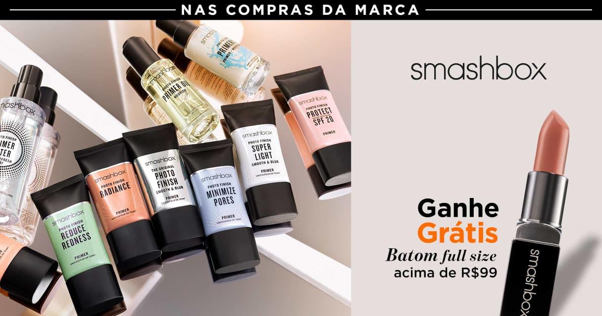 Maquiagem: Smashbox ganhe grátis 37744 acima de R$99