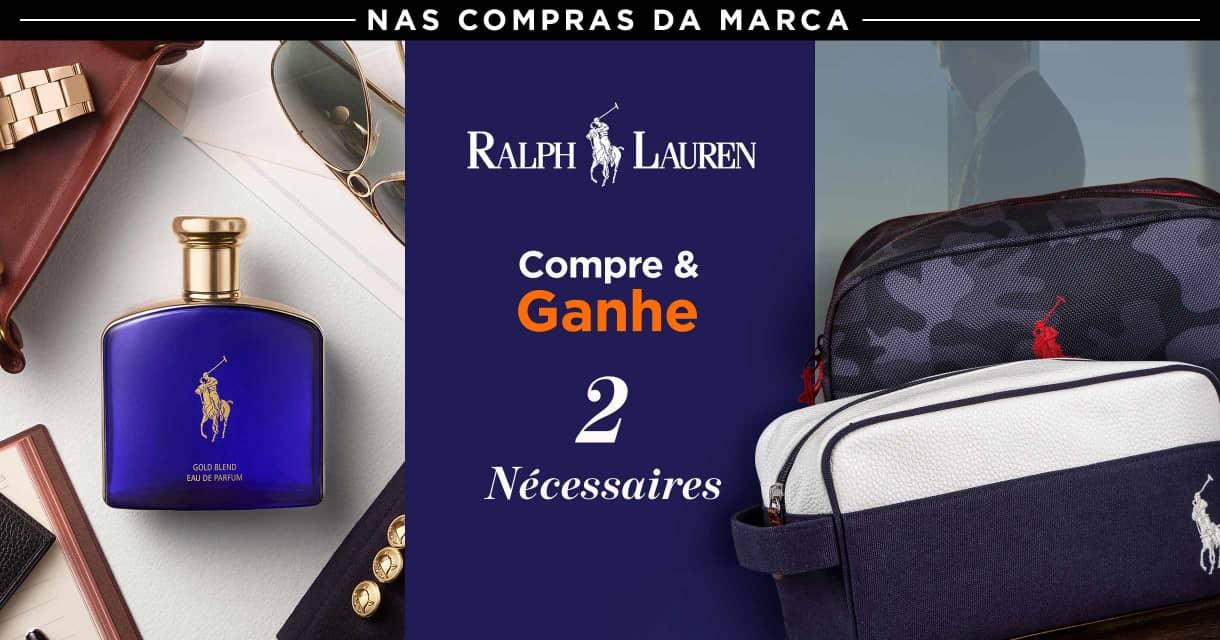 Perfume; Ralph Lauren compre e ganhe 2 necessaire