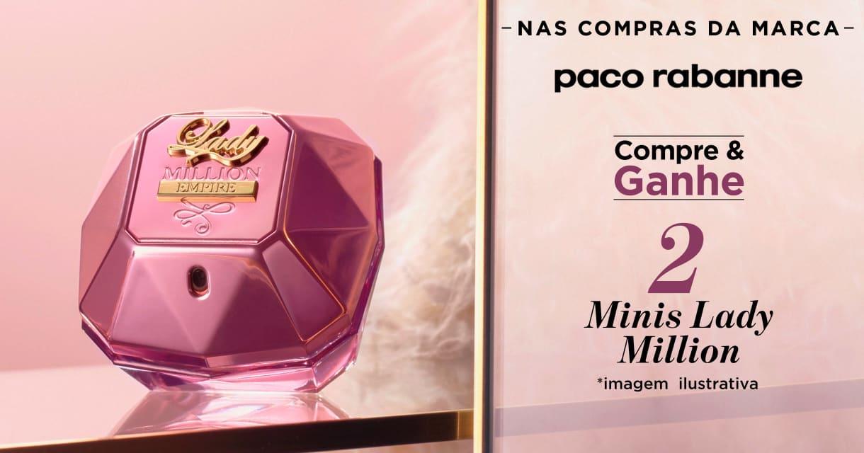Perfume: Paco Rabanne compre e ganhe 2 minis na marca