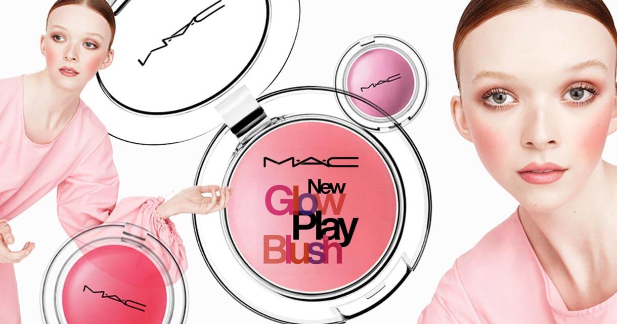 Maquiagem: MAC: lançamento glow play blush