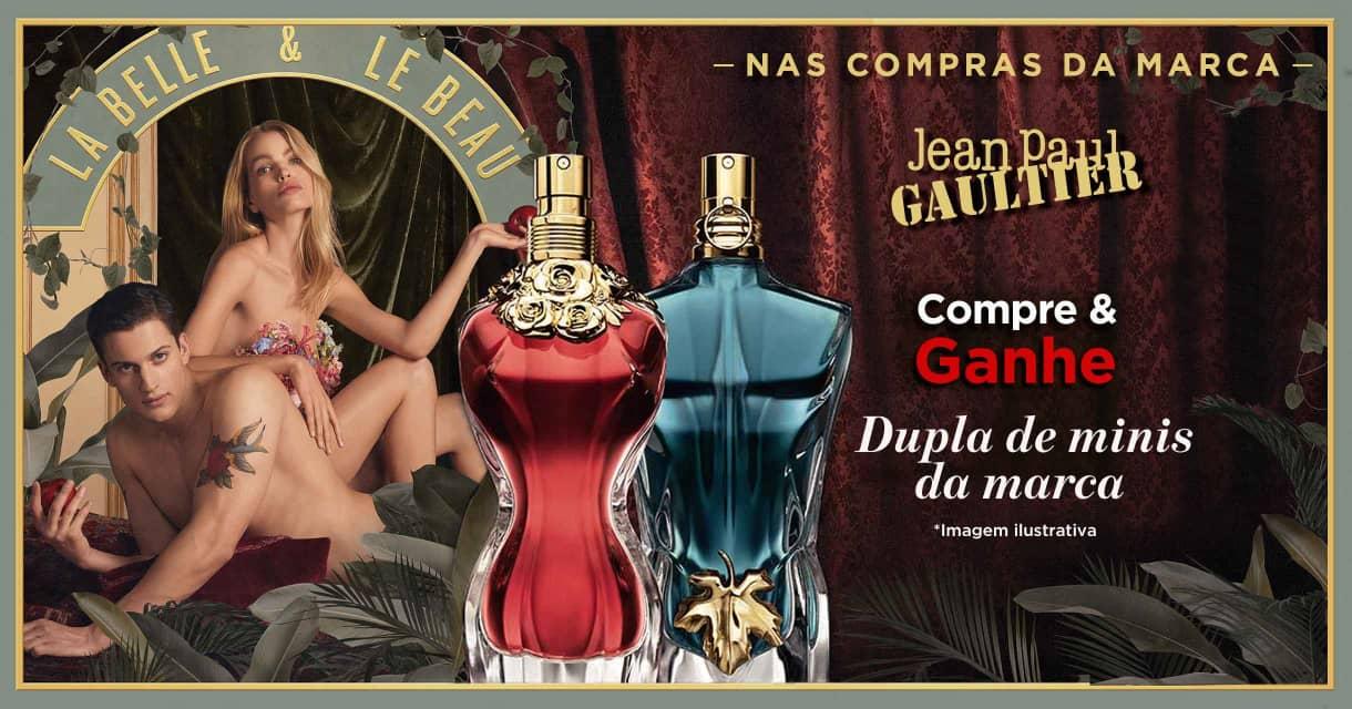 Perfumes: Jean Paul: Compre e ganhe dupla de minis na marca
