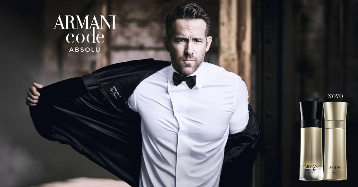 Perfumes: Giorgio Armani: lançamento code absolu gold