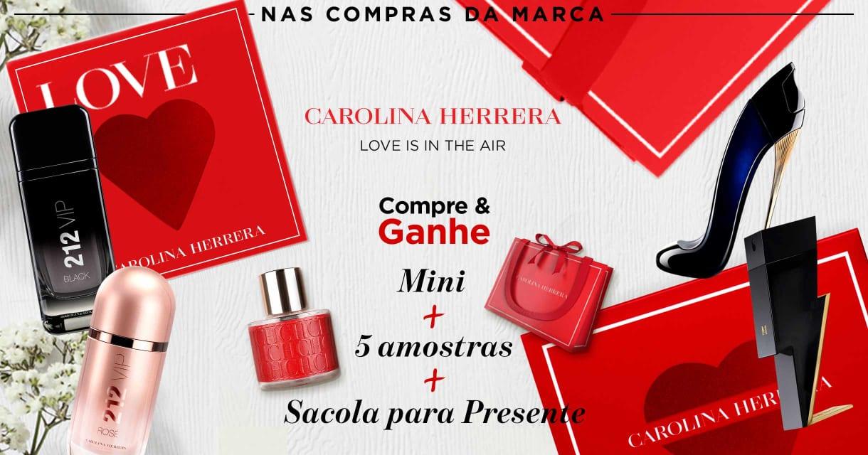 Perfumes: Carolina Herrera: Compre e ganhe 8586,76038,44551,48913,33305,20787,73839