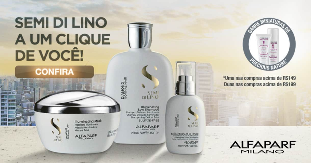 Semi di Lino Premium a um clique de Vc