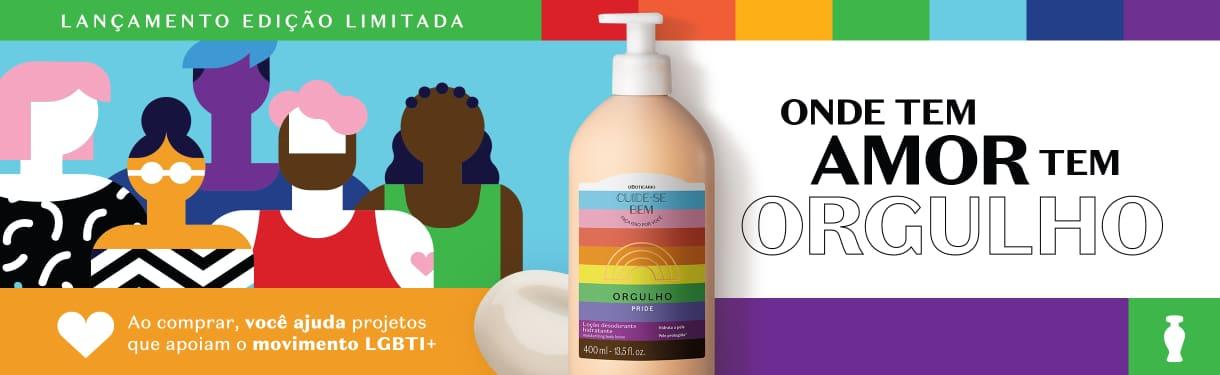 Conheça a nova linha Orgulho e contribua com projetos da causa LGBTI+