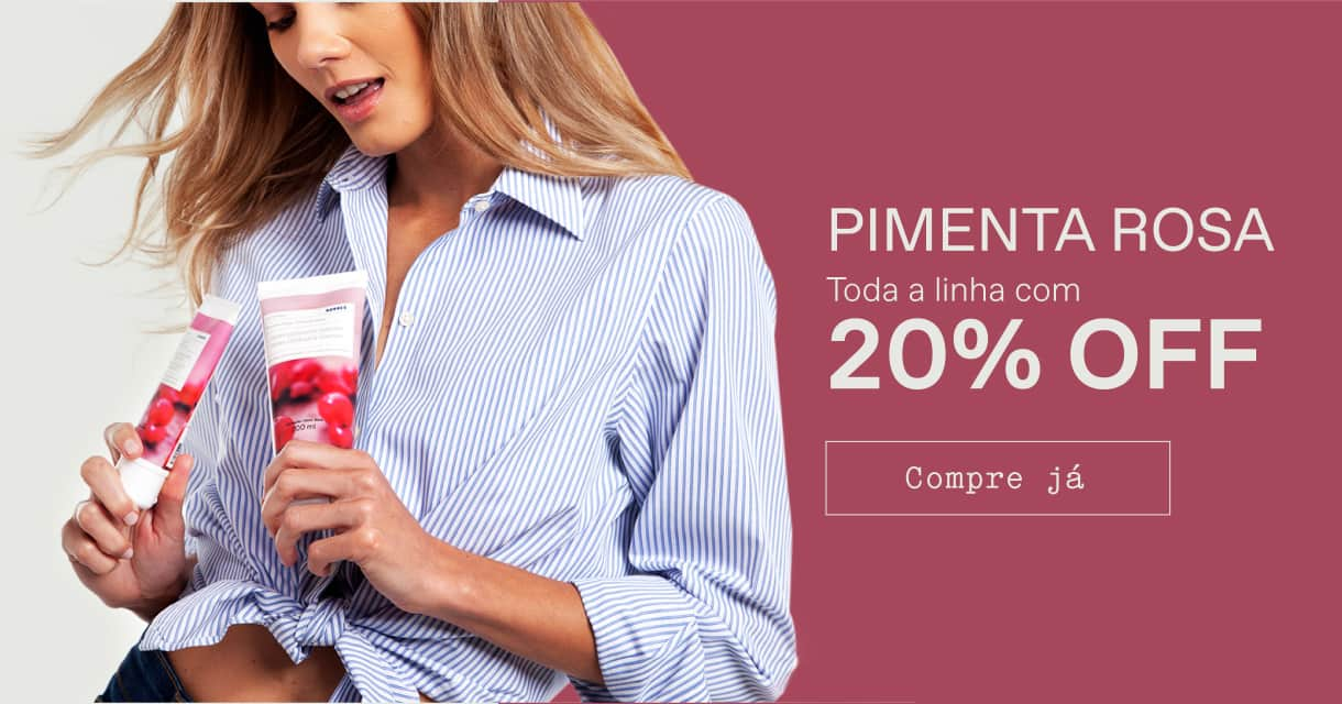 Pimenta Rosa 20% OFF
