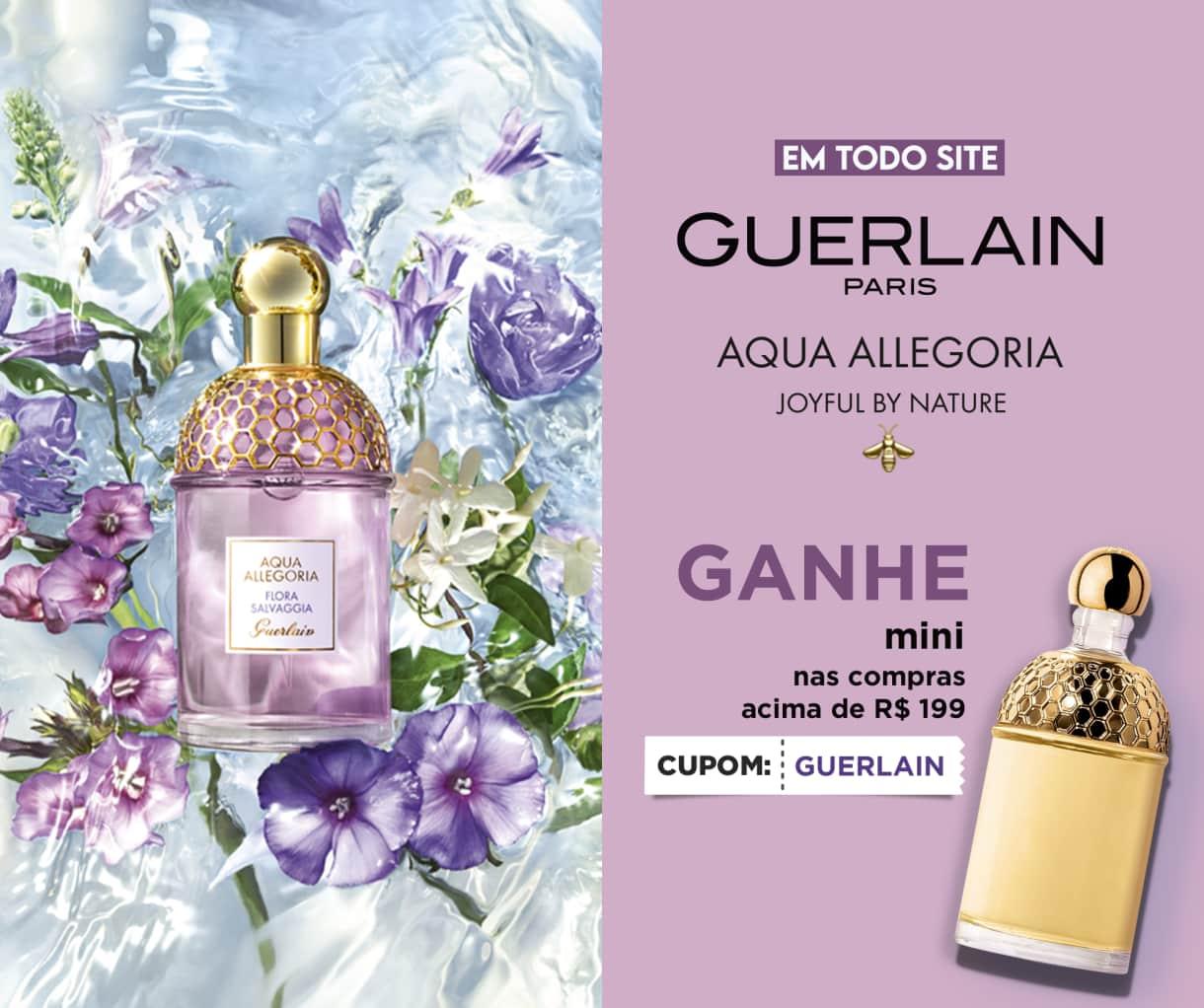 Fragrâncias sofisticadas e marcantes, tratamentos de luxo para pele