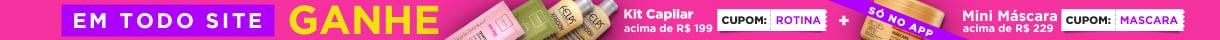 Aproveite os itens mais desejados com até 65% OFF e monte sua rotina!