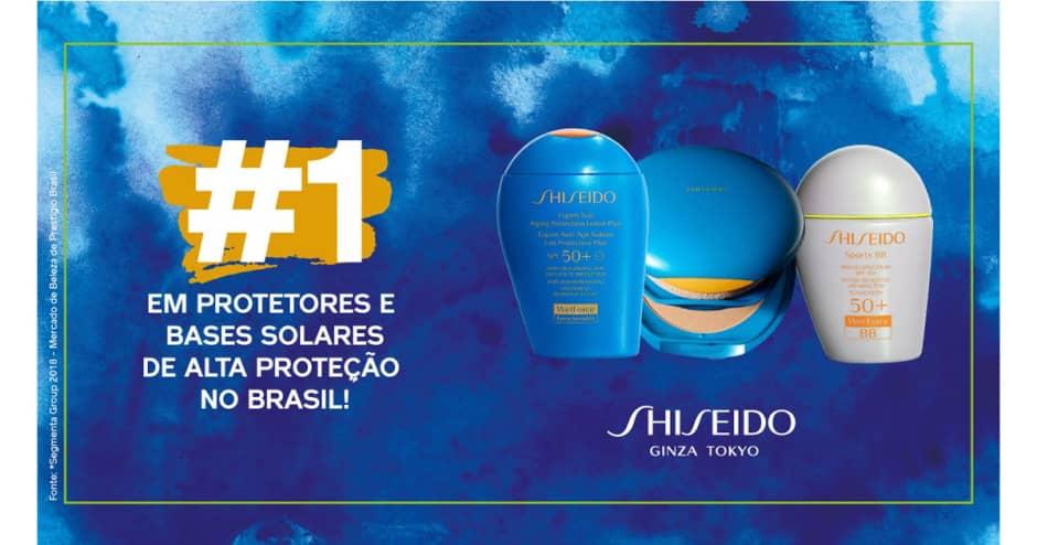 Shiseido Protetor Solar e Bronzeamento