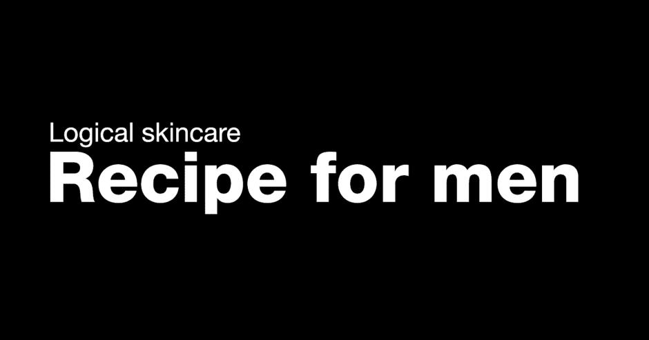 Recipe for men Cuidados para Pele