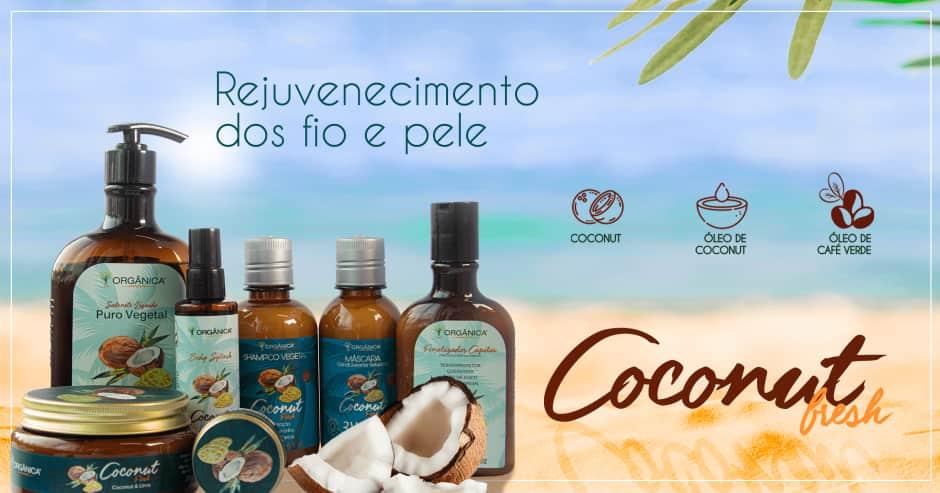 Orgânica: Coconut Fresh