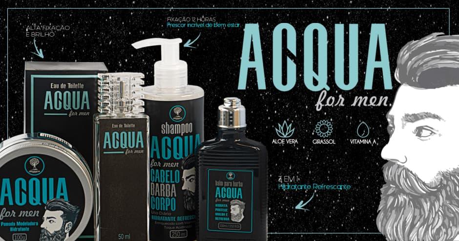 Orgânica: Acqua for Men