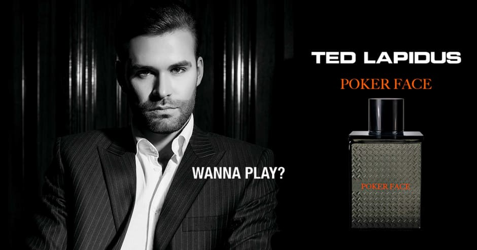 Ted Lapidus Poker Face
