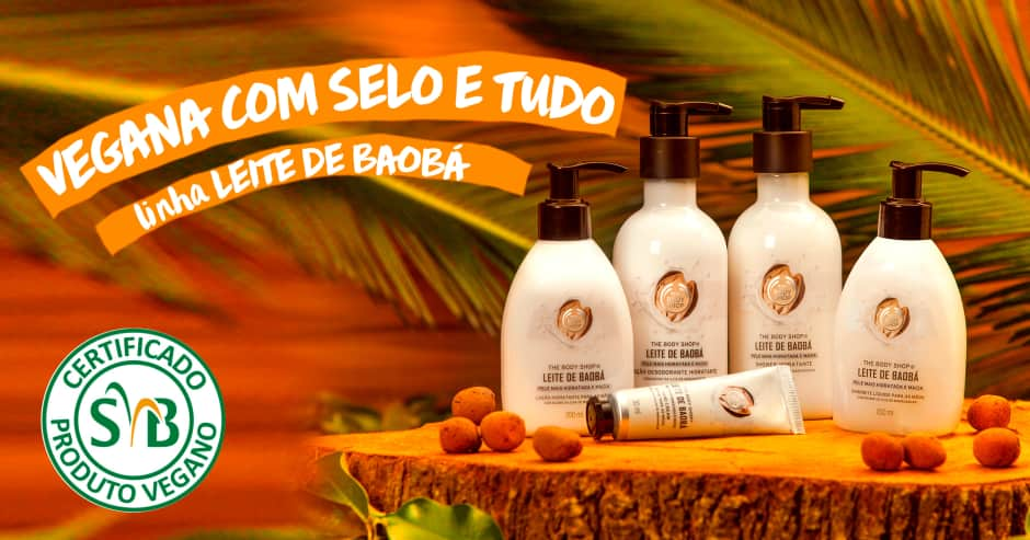 The Body Shop Leite de Baobá