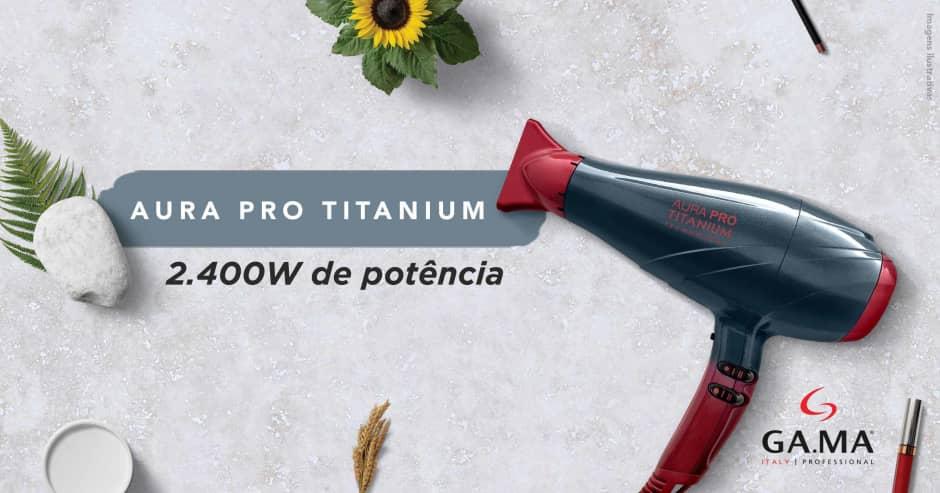 GAMA Aura Pro Titanium