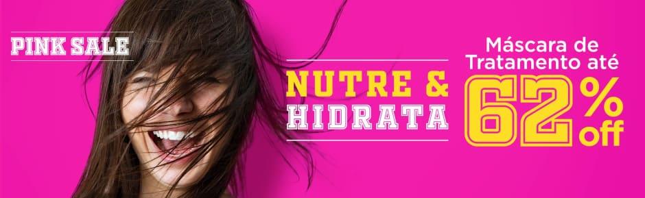 Home: Cabelos: Pink Sale Nutre e Hidrata até 62% off - bannerfita