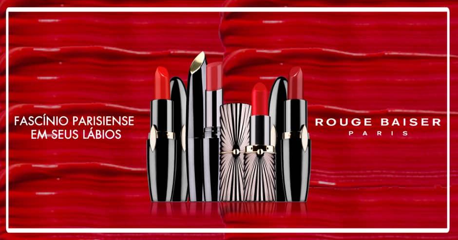 Rouge Baiser Paris - Batom Vermelho