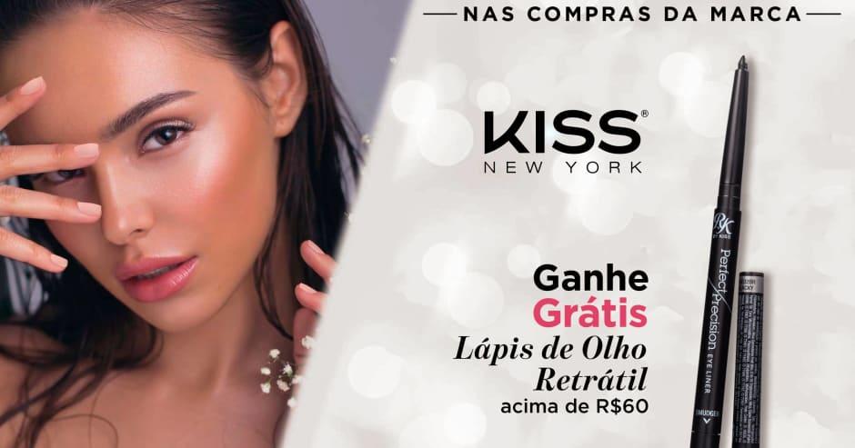 Maquiagem: Kiss NY ganhe grátis 47842 acima de R$60