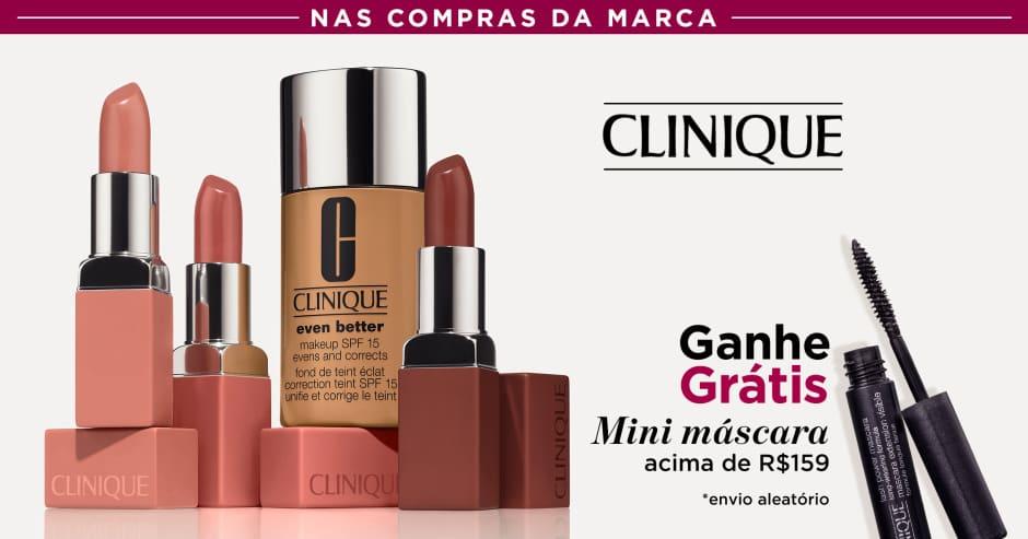 Maquiagem: Clinique ganhe grátis 60980 acima de R$159