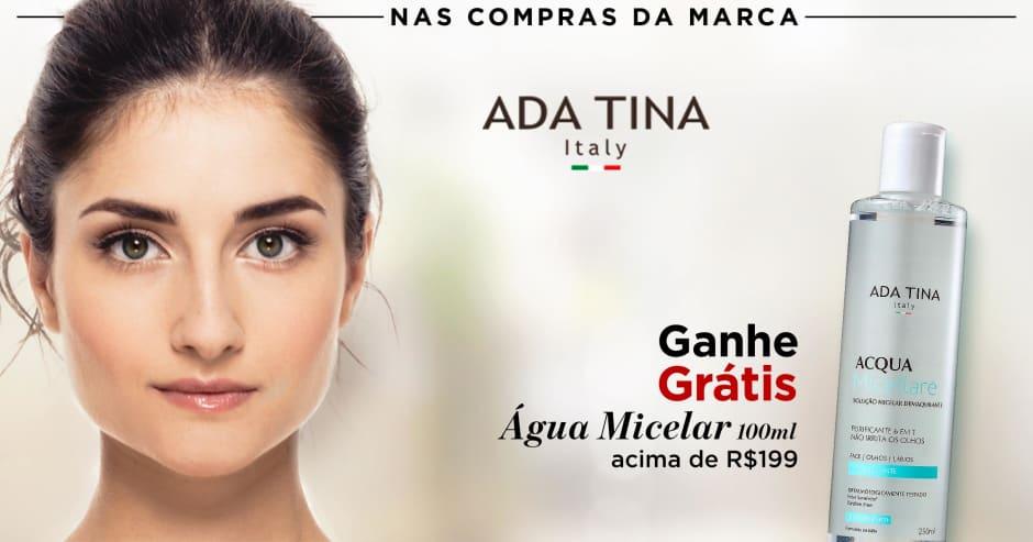 Dermo: Ada Tina ganhe grátis 73253 acima de R$199