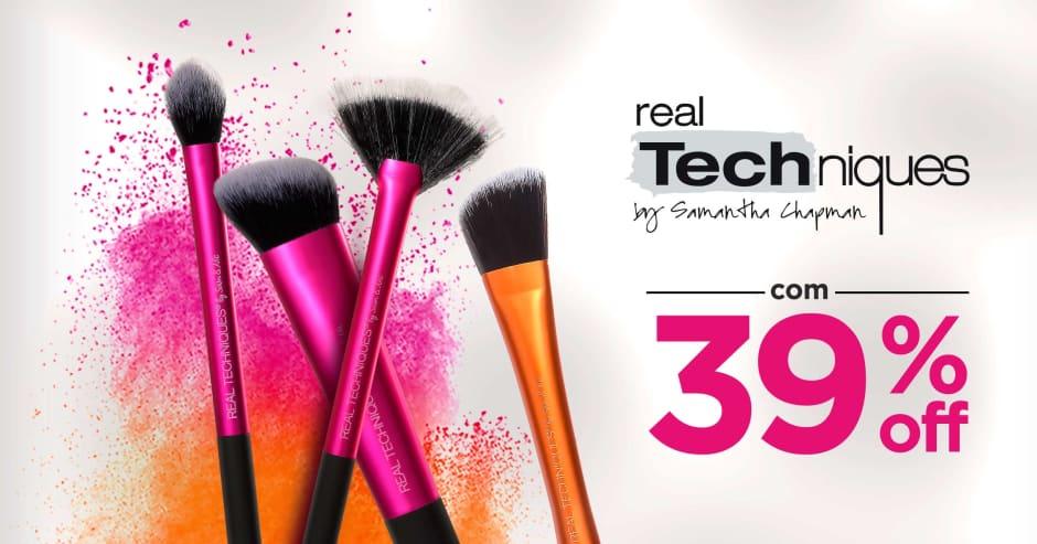 Maquiagem: Real T até 39% Off