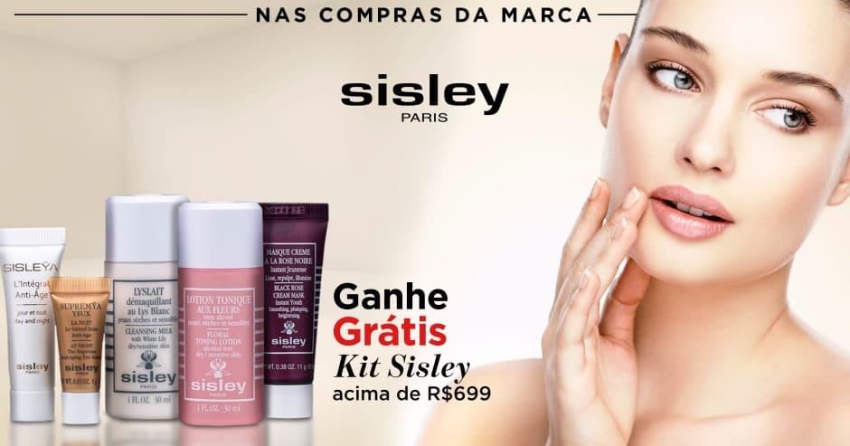 Pele: Sisley ganhe grátis 71248 acima de R$699