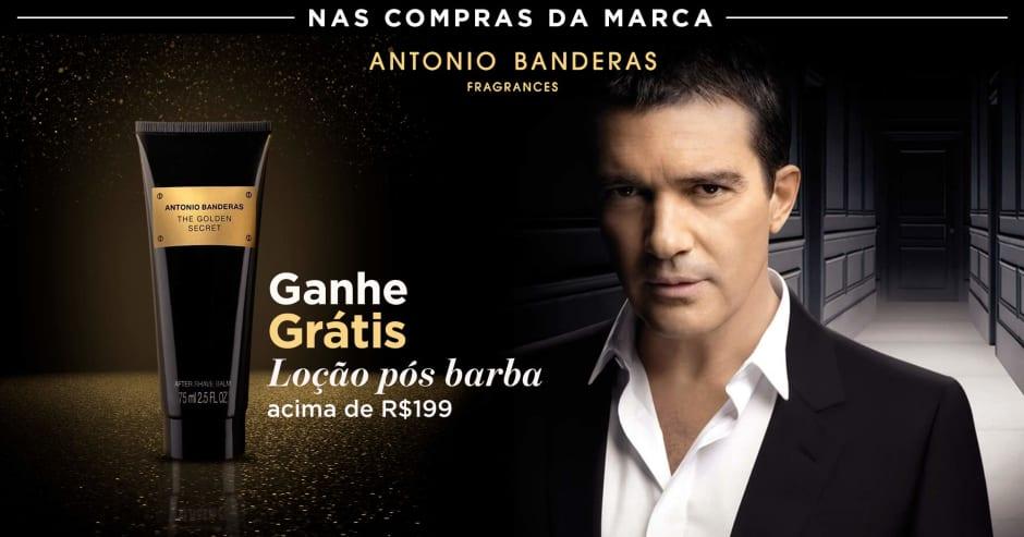 Perfumes: Antonio B ganhe grátis 60209 acima de R$199